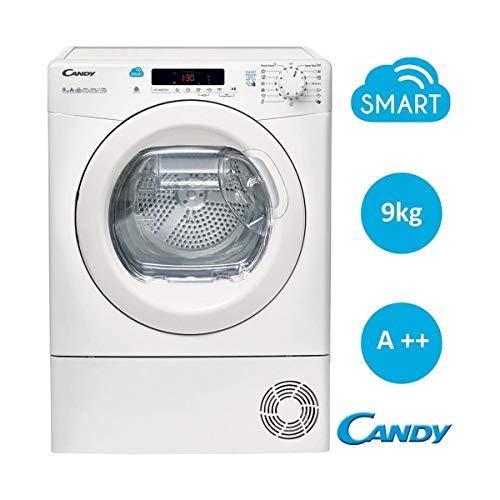 Candy CS H9A2DE-S/ Asciugatrice, 9 kg, 66 dB(A), Bianco