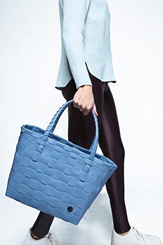 Borsa A Mano Blu Intrecciata A Mano Di Parigi (blu (blu Scuro))