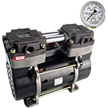 Compresor de Aire sin Aceite a pequeña Escala 180W38L Bomba de succión de Doble propósito del