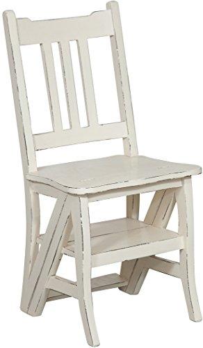 Sedia-scala-in-massello-di-mogano-finitura-bianca-anticata-44x38x90-cm