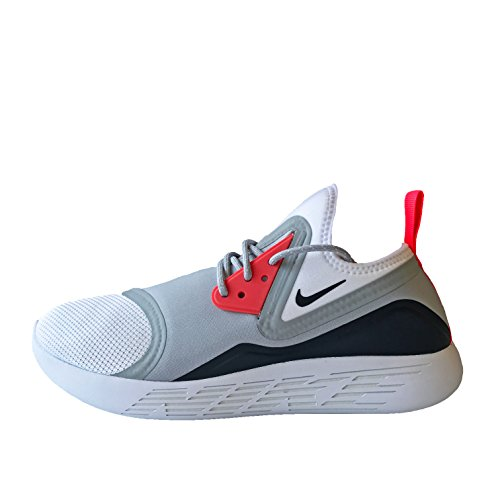 Nike Men's Lunarcharge Essential Ankle-High Fabric Running Shoe Grau