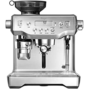 Sage by Heston Blumenthal BES980UK the Oracle Espresso Semi-Automatic Espresso Machine - Silver