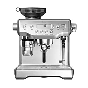 Sage by Heston Blumenthal BES980UK the Oracle Espresso Semi-Automatic Espresso Machine - Silver