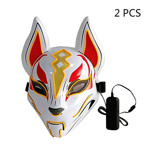 Halloween Scary Mask LED leuchten Maske für
