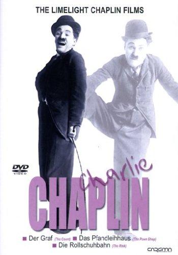 Charlie Chaplin Vol. 2 - Der Graf/Das Pfandleihhaus/Die Rollschuhbahn - Charlie Chaplin-film Poster