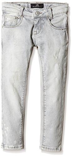 LTB Jeans Mädchen Jeanshose Luna Grau (GREY ICE WASH 4378)