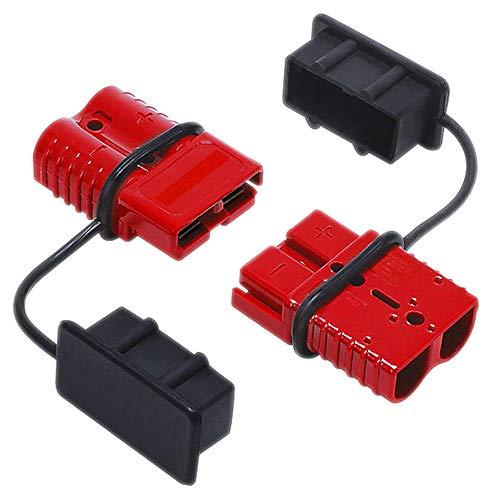Fefaxi 2 stücke 175A Autobatterie Schnellkupplung Trennen Winch Connector 0 1 2 Gauge Kabel Terminal 1/0 Gauge