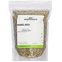 JustIngredients Premier Fennel Seeds, 100 g