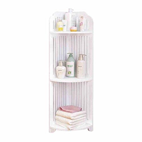 %Étagère multicouche Étagère de salle de bains Étagère de rangement étagère de coin étagère triangulaire multicouche Rack de finition (taille : A)