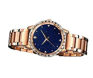 Moda Brillante Estrella De Damas De Relojes Femenina Franja Estudiante Impermeable Shi Ying Reloj Tendencia Retro por Hui sheng clothing factory