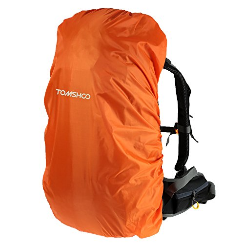 TOMSHOO Cubierta Impermeable de Lluvia para Muchilla 40L-55L al Aire Libre Senderismo Camping Viaje