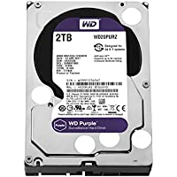 "Western Digital Purple - Disco duro interno de 2 TB (Serial ATA III, 5400 RPM, 3.5"", Surveillance System), Púrpura"