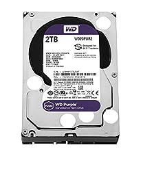 Wd Purple 2 Tb Festplatte Zur Videoüberwachung - Intellipower Sata 6 Gbs 64mb Cache 3,5 Zoll - Wd20purz