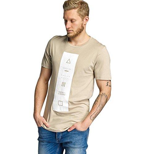 JACK & JONES Uomo Maglieria/T-Shirt 12122820 Beige