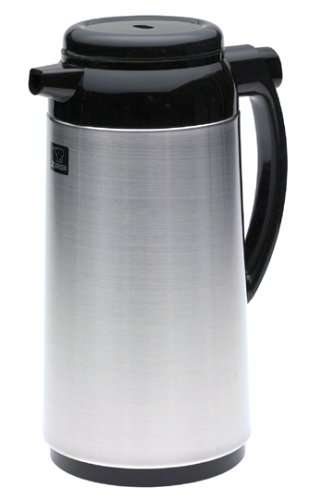 Zojirushi Premium Thermal 1-Liter Carafe, Brushed Stainless Steel by Zojirushi - Kaffee-tee-thermische Karaffe