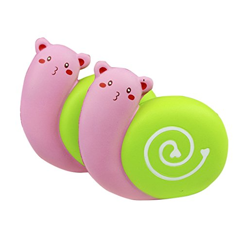 HIFUAR Snails Slow Rising Jumbo Squishies Kawaii Scented Toy Extrusion Rebound Plaything for Adult and Kids (11cmx10.5cmx4cm)