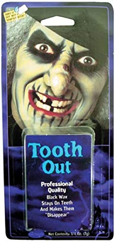 Labreeze Tooth Wax Black out Teeth Witch Pirate Missing Toothless Halloween Party Make Up