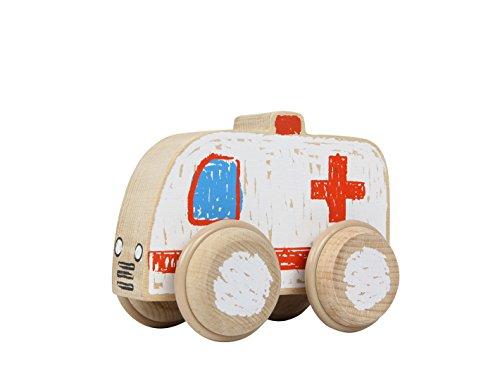 Trasporti - Crayon On Wheels Ambulance legno 5