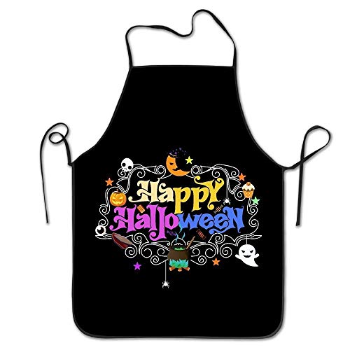 Ljkhas232 Happy Day of The Dead Halloween VintageCooking Aprons Cool ApronAprons for Girls Boys Aprons Bulk Aprons for Women Men (Dead Halloween Metzger)