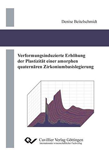 Verformungsinduzierte Erhöhung der Plastizität einer amorphen quaternären Zirkoniumbasislegierung