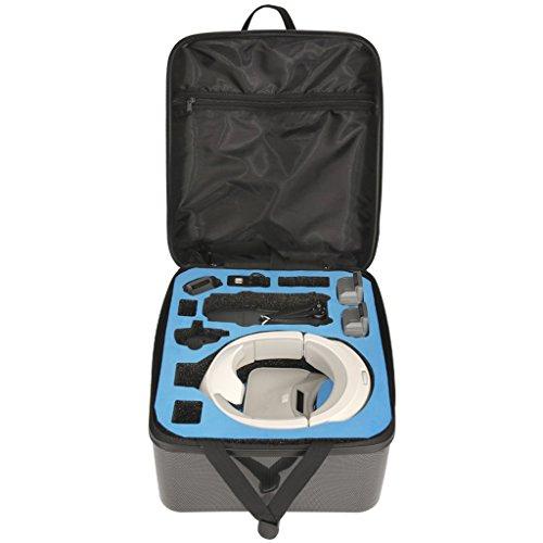 Senoow Wasserdichte Hardshell-Rucksack-Schultertasche für DJI Mavic Pro + DJI VR-Brille