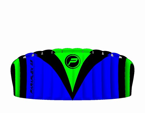 Wolkenstürmer Paraflex Sport 2.3 Lenkmatte, blau - Kite für Jungendliche und Erwachsene