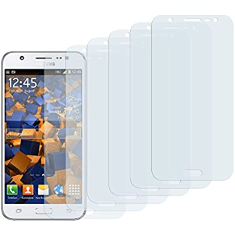 6 x mumbi Schutzfolie Samsung Galaxy J5 (2015) Folie Displayschutzfolie