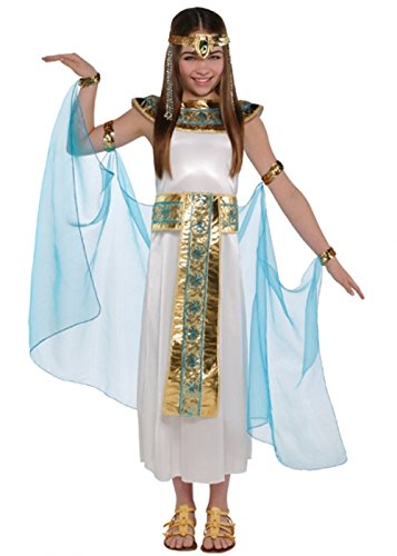 Kinder Ägyptische Deluxe Cleopatra Kostüm Small (4-6 years)