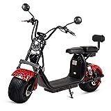 VIRTUE Moto electrica Scooter 1200w bateria 12Ah 60v Patinete Patin Bici Bicicleta Motor Chopper...