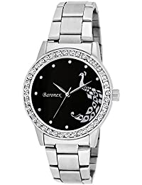Baronex Analogue Silver Dial Girls Watch-Bnx_00123V