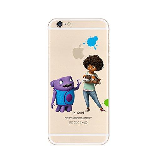 Ronney de support New Home Film transparent coque souple en TPU pour Apple iPhone 5/5S/5C/6/6S et 6Plus/6carreaux + S * * * * * * * * OFFRE SPÉCIALE * * * * * * * *, plastique, OH 1, iPhone 5/5S OH