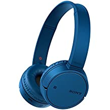 Sony MDRZX220BTL.CE7 - Auriculares plegables de diadema cerrados con Bluetooth (manos libres para Apple iPhone y Android, NFC, LDAC, autonomía de 8 h), color azul