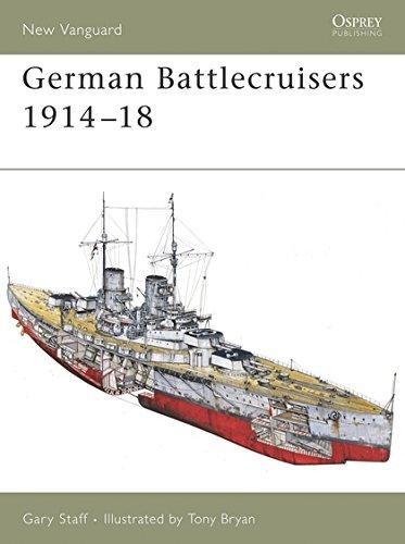 German Battlecruisers 1914-18 (New Vanguard)