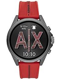 Armani Exchange Smartwatch Pantalla táctil para Hombre de Connected con Correa en Silicona AXT2006