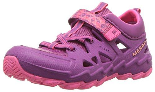 Merrell Girls' Hydro 2.0 Sandal, Red, 10 Medium US Toddler