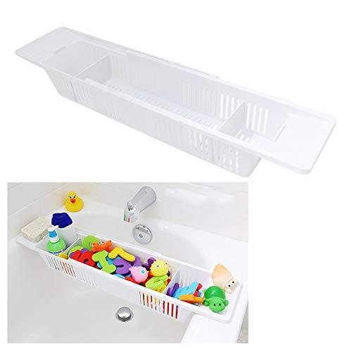 ger Korb Einziehbar Bad Spielzeug Veranstalter Badewanne Caddie ()