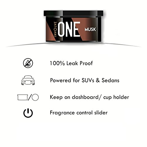 Involve Your Senses IONE01 Musk Organic Car Perfume (40 g)