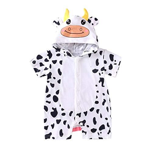Obestseller Jungenbekleidung,Neugeborenes Baby Mädchen Cartoon Hoodie Infant Strampler Overall Outfits Kleidung,Unisex,Sommerkleidung,Baby Oberteil
