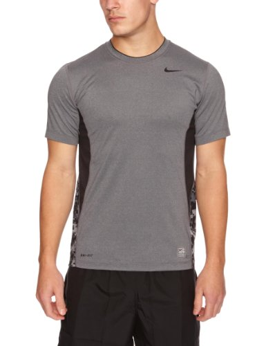 NIKE T-shirt manches courtes Hypercool Fitted Noir
