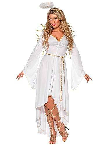 DISBACANAL Disfraz ángel Deluxe para Mujer - Único, M