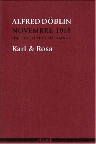 Novembre 1918, une révolution allemande, Tome 4 : Karl & Rosa