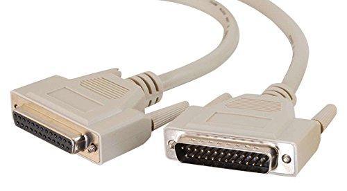 Cables to Go 81471 Drucker Verlängerungskabel (IEEE-1284, DB25, Stecker auf Buchse, 3m)