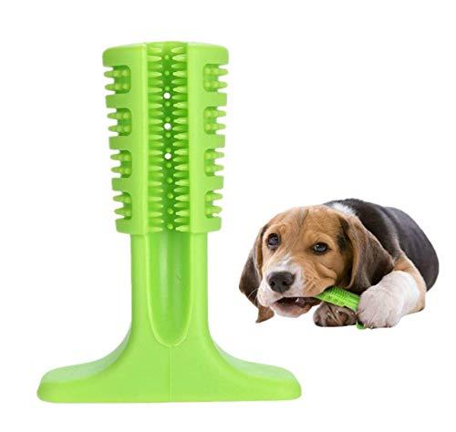 DOXMAL Große Kleine Hunde Hundespielzeug,Hunde Kauspielzeug Hundezahnbürste Unzerstörbar,Silicon Pet Zahnbürste Zahnreinigung für Haustiere (S)