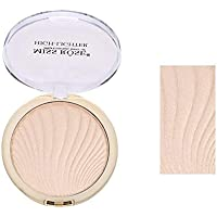 Miss rose Professional Makeup Fashion Highlighter, beige, 12 g
