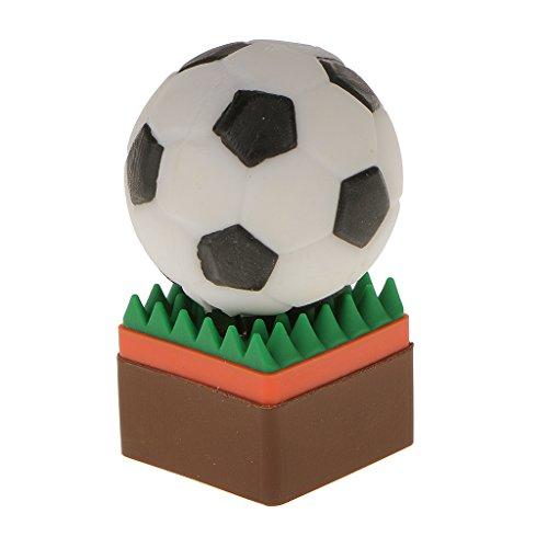 Generic 8 GB USB 2.0 Memoria Flash Drive Stick Pen Almacenamiento de Datos Forma de Bola - Fútbol