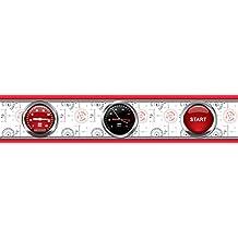 AG Diseño wbd 8061Disney Cars, cenefa adhesiva, 0,14x 5m–1rollo, papel, Colorful, 500x 14cm