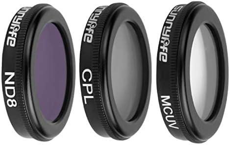 DUS Kit de Filtres pour DJI Mavic 2 Zoom - MCUV CPL ND8 Filter | Approvisionnement Suffisant Et Une Livraison Rapide