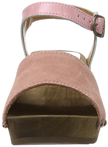 Sanita Edel Wedge Flex Sandal, Bride cheville femme Rose