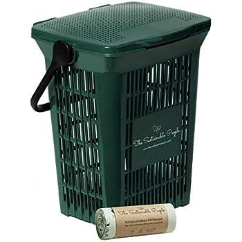 BIOMAT® AirBox® Family Bio-Abfalleimer Bio-Abfallbeutel 7 L aus Kraftpapier