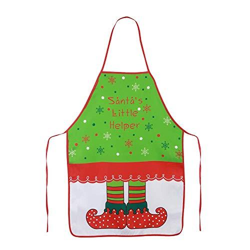 Diseño elfo Navidad cosanter delantales hombres mujeres